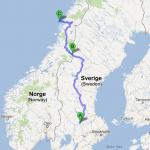 Resrutt 2 - via Östersund